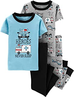 Boys' 4 Pc Cotton 341g280