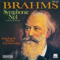 Brahms: Symphony No. 4 in E Minor Op. by Kurt Sanderling (2010-09-22)