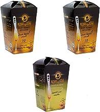 Al Malaky's Offer 2 Set Sider Honey Spoon and 1 Set Ginger Lemon Honey Spoon 100% Natural Honey