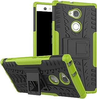 頑丈なハイブリッド頑丈なデュアルレイヤーアーマーハードPCとソフトTPU衝撃保護2 in 1で カバー Sony Xperia XZ3(6.0インチ)
