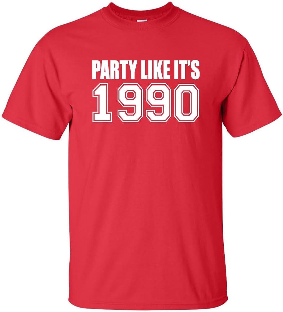 zerogravitee Party Like It's 1990 Adult Short Sleeve T-Shirt