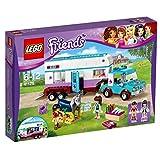 LEGO Friends Gioco Rimorchio Veterinario dei Cavalli, Colore Vari, 41125