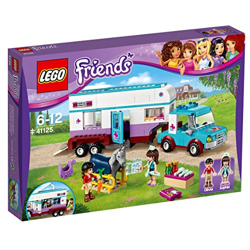 LEGO Friends 41125 - Gioco Rimorchio Veterinario dei Cavalli
