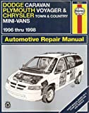 Dodge Caravan, Plymouth Voyager and Chrysler Town and Country Mini-vans Automotive Repair Manual (1996-98) (Haynes Automotive Repair Manuals)