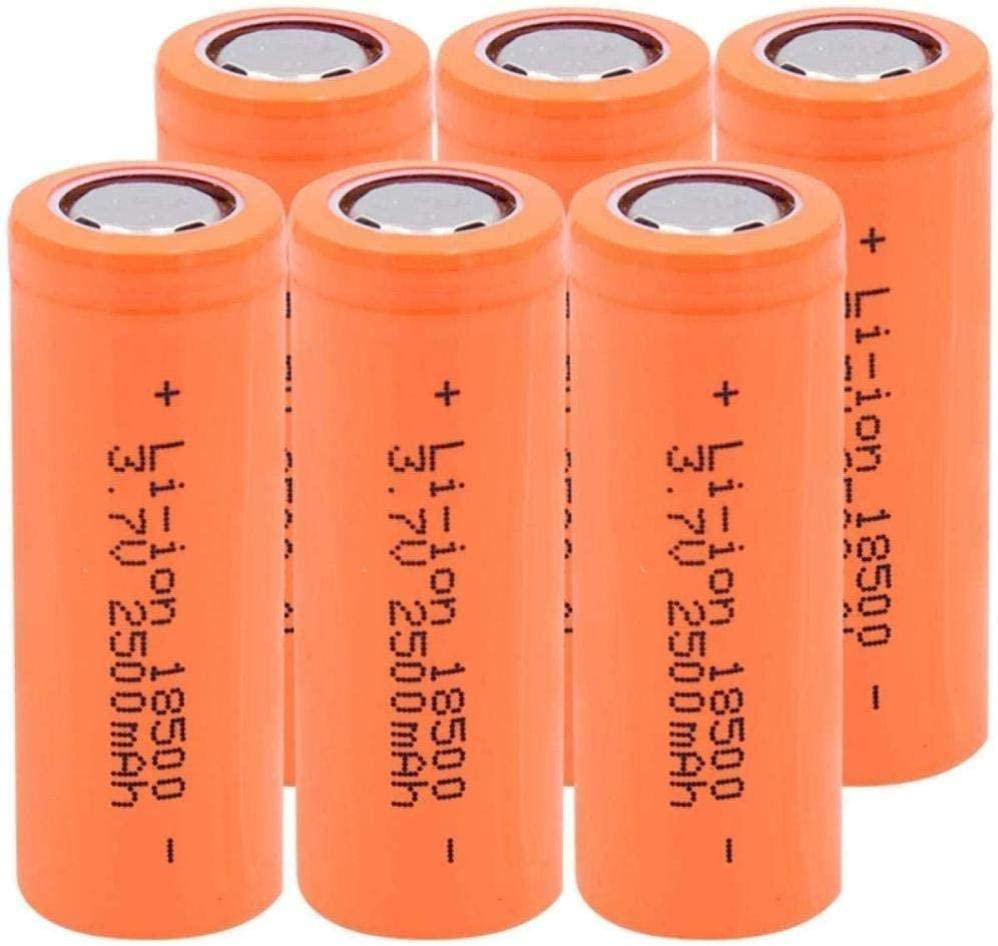Rechargeable Battery 18500 Max 52% OFF Max 81% OFF Long Life 7V 2500Ma Lithium 3