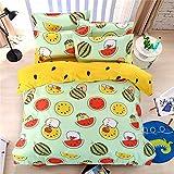 YUNSW Bettbezug Twin Double Queen King Full Size Bettwäschesatz Kinderbettwäsche Bettlaken Bettwäsche B 180x220cm