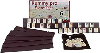 Aquamarine Games - Rummy, 6 jugadores (DO001) , color/modelo
