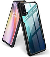 FOSO Back Case Cover for OnePlus Nord CE 5G Slim Crystal Clear Camera Protection Airbag PC TPU Bumper Back Cover for OnePlus Nord CE 5G 1 Nord CE 5G Black