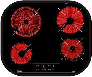 comprar comparacion Teka | Placa Vitrocerámica | Modelo TC 6400 | 4 zonas Touch Control | Negro | 60CM