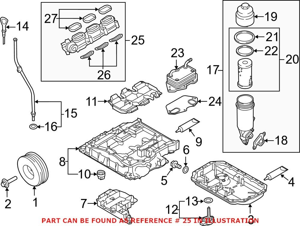 Genuine OEM Max 43% OFF Engine Intake Audi 06E133109AS Manifold for San Francisco Mall