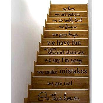 ❤️Pegatinas de Pared❤️Dragon868 En Esta Escalera casa Arte Vinilo Mural Pegatinas de Pared: Amazon.es: Juguetes y juegos