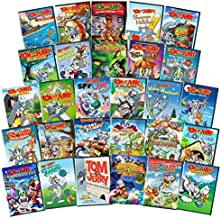 Tom and Jerry Ultimate 28-Movie Pack DVD Set - Around The World/ Mouse Trouble/ In Space/ Magical Misadventures/ The Lost Dragon/ Summer Holidays/ Musical Mayhem/ World Champions / Tricks and Treats