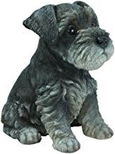Hi-Line Gift Ltd Sitting Schnauzer Puppy, 7""