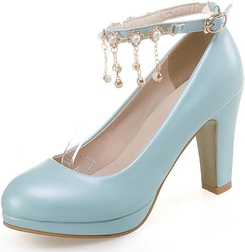 Easemax Femme Spécial Perles Perles Plateforme Escarpins  vente de renommée mondiale en ligne