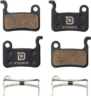 Dymoece 2 Pairs Bicycle Disc Brake Pads Compatible with Shimano Deore XT XTR LX SLX Hone Alfine Saint Disc Brake(Resin,Semi-Metallic,Sintered Metal)