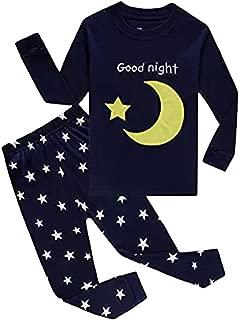Dos Conjuntos de Pijama de Luna y Estrella,navicella