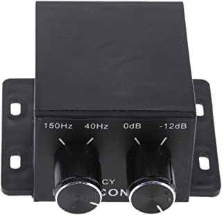 MagiDeal Amplificador De Casa para Automóvil Subwoofer Ecualizador Crossover RCA Ajustar Nivel Volumen De Línea