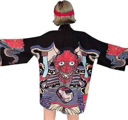 6da439fd4 Focal20 Women Japanese Demon Cardigan Long Sleeve Kimono Outwear Top Spring