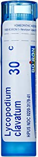 Boiron Lycopodium Clavatum 30C Homeopathic Medicine for Bloating and Gas, 80 Count
