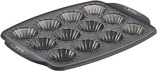 Tefal Crispybake Moule 12 mini tartelettes, 100 % Silicone haute qualité, Résistance, Cuisson parfaite, 29x21 cm J4171414