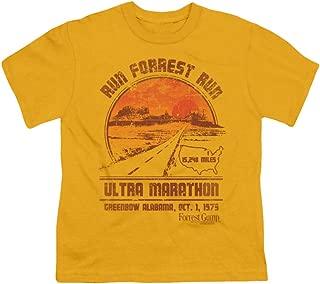 Youth: Forrest Gump - Ultra Marathon Kids T-Shirt Size YL