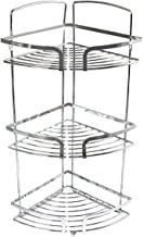 In-house Corner Shower Rack, Stainless Steel, Silver, W 50.4 x H 21.0 x L 20.0 cm