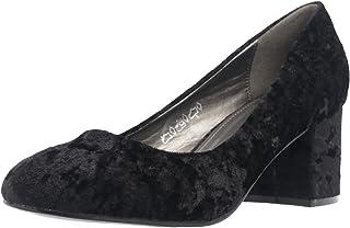 Fitters Footwear That Fits Dames Escarpins Sesy Velours Escarpins à Talon Large (EU,)
