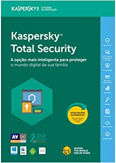 Kaspersky Total Security - Multidispositivos - 5 Dispositivos, 1 ano (Digital - Via Download)