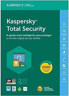 Kaspersky Total Security 2019 - Multidispositivos - 3 Dispositivos, 1 Ano (Digital - Via Download)