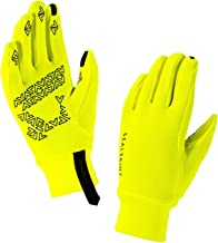 SEALSKINZ Men's Stretch Fleece Nano Cycling Gloves