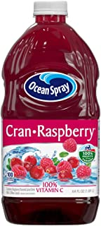 Ocean Spray Cran-Raspberry Cranberry Raspberry Juice Drink, 64 Ounce Bottles (Pack of 8)