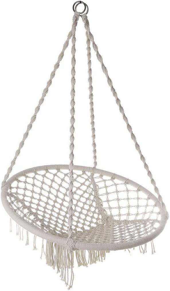 TKI-Sskucvy Hammock Swing Philadelphia Mall Chairs Hanging Rope for Trust Ind Seat