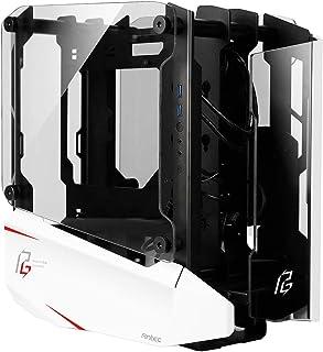جراب كمبيوتر من Antec Striker Phantom من الألومنيوم والفولاذ، حامل أمامي GPU ، دعم مروحة يصل إلى 4 × 120 مم، USB 3.1 نوع ...