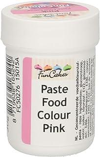 FunCakes FunColours Colorante Concentrado Alimenticio en Pasta para Hornear, Decorar, Glasear, Fondant, Crema, Color Rosa, 30g FCS50276