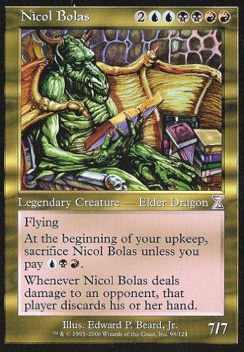 Magic: the Gathering - Nicol Bolas - Nicol Bolas - Time Spiral