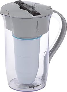 dropson Jarra con Filtro Modelo CrystalDrink Jarra de Agua de Cristal 1L