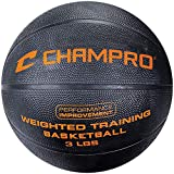 Champro Weighted Basketball (Black, Regulation/3-Pound)
