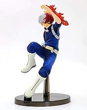 DMCMX My Hero Academia figur Todoroki Shoto anime spelkaraktär modell boxad statisk karaktär skrivbord dekoration höjd ca ...