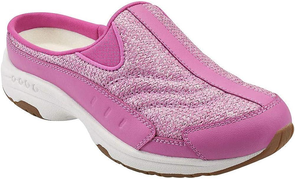 出荷 Easy Spirit 出荷 Womens Traveltime Clogs Casual Flats - Pink