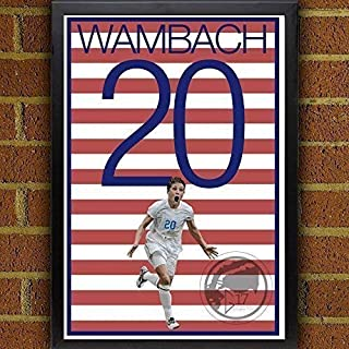 Abby Wambach United States Women's National Team Poster