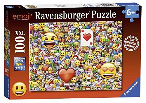 Ravensburger Italy Puzzle Emoji, 100 Pezzi, 10707