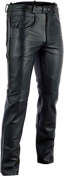 Rad Masters Lederhose Lederjeans Bikerjeans Jeans Hose Aus Anilinleder Naturleder Größe 48 Auto