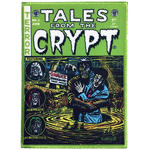 EC Comics Tales from The Crypt Green Comic Cover Patch