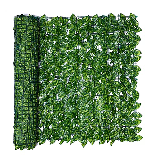 KKmoon Plantas Hiedra Artificial Decoración Interior y Exterior Guirnalda Hiedra Artificial De...