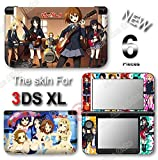 K-ON! Amazing Anime Vinyl Skin Sticker Cover Decal for Original Nintendo 3DS XL