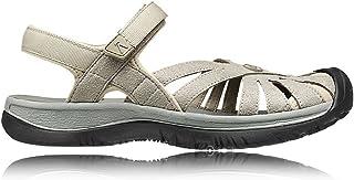 Keen Womens Rose Sandal W Aluminum/Neutral Gray Size 7.5 EU