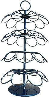 Quailitas Support de capsules de café - Support rotatif pour 36 capsules de café pour Dolce Gusto, base anti-rayures, fini...