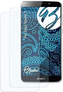 Bruni Skärmskydd är kompatibel med Zopo Speed 7 Film, kristallklart Skyddsfilm (2X)