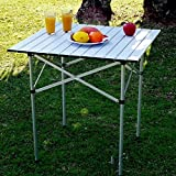 Bluefringe Folding Camping Aluminum Table