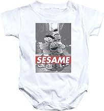 Sesame Street Classic Children's TV Show Sesame Pose Infant Romper Snapsuit